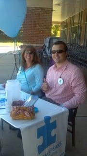 Employees Patti Harvey & Matthew Culkin